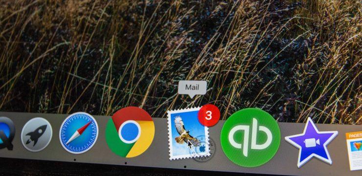 desktop email button